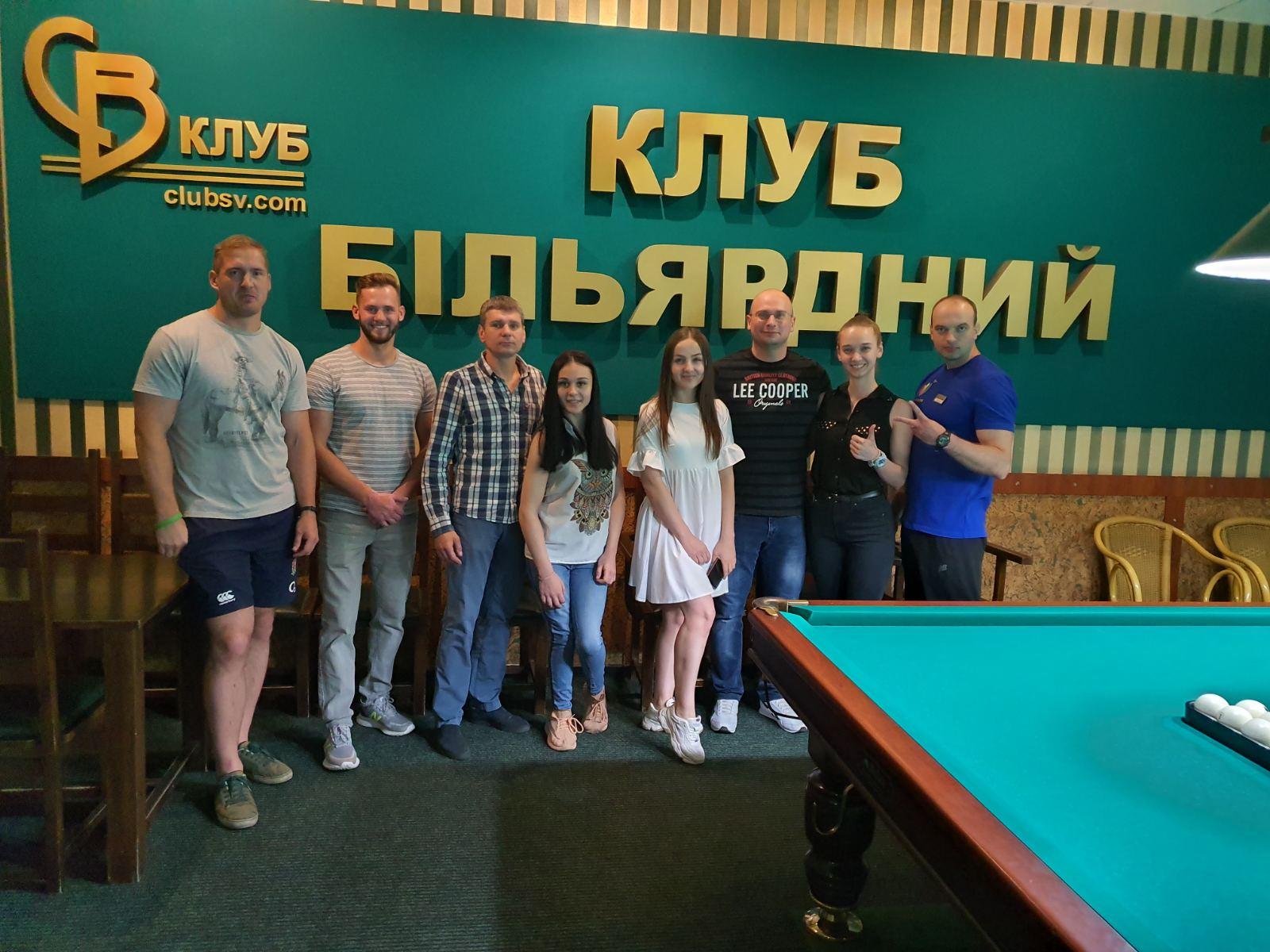 2 тур Корпоративних Змагань серед колективів СВ-КЛУБУ — 14 липня, вівторок